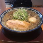八海山煮卵煮干しラーメン