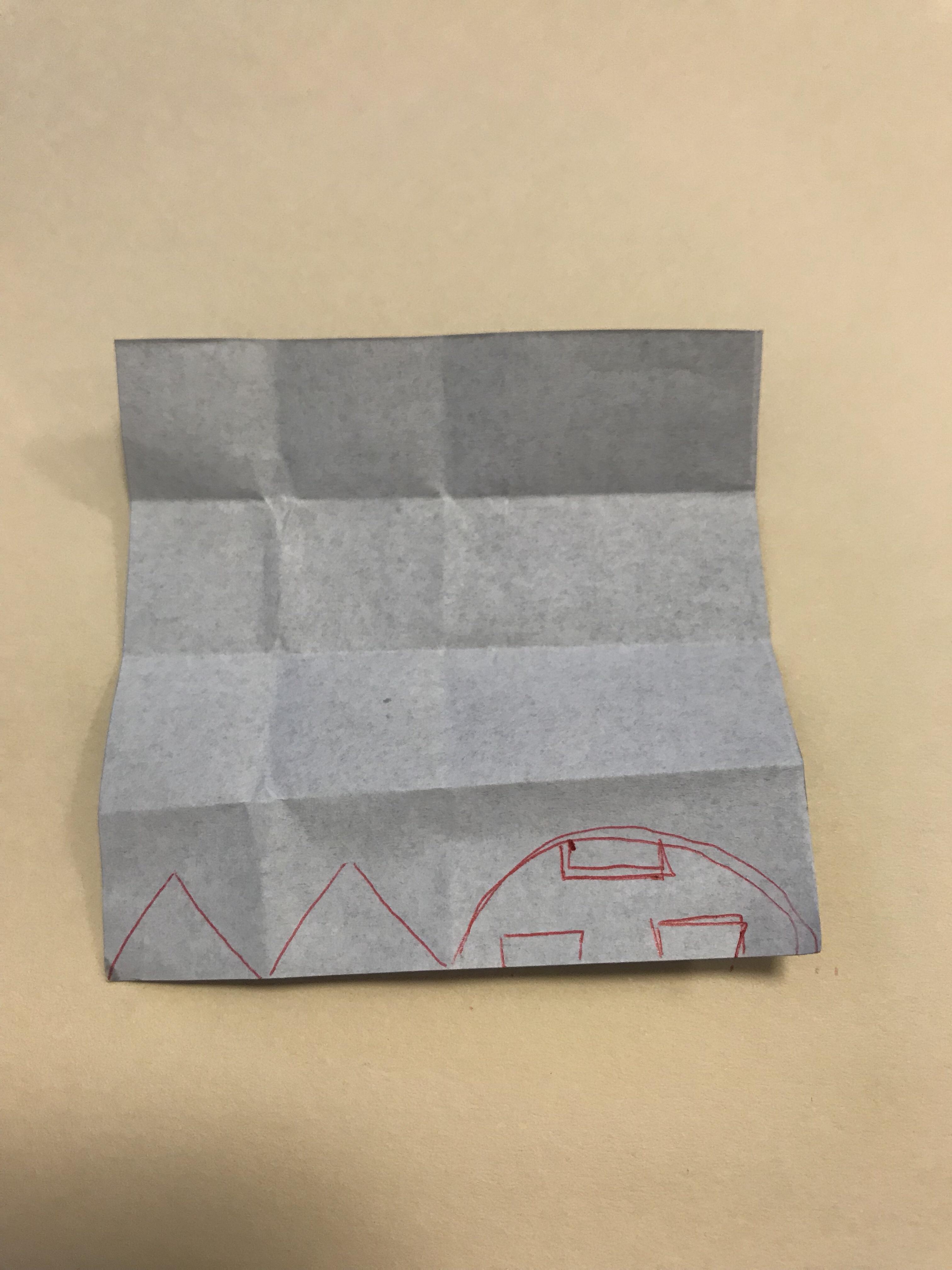 目と口のデザイン図