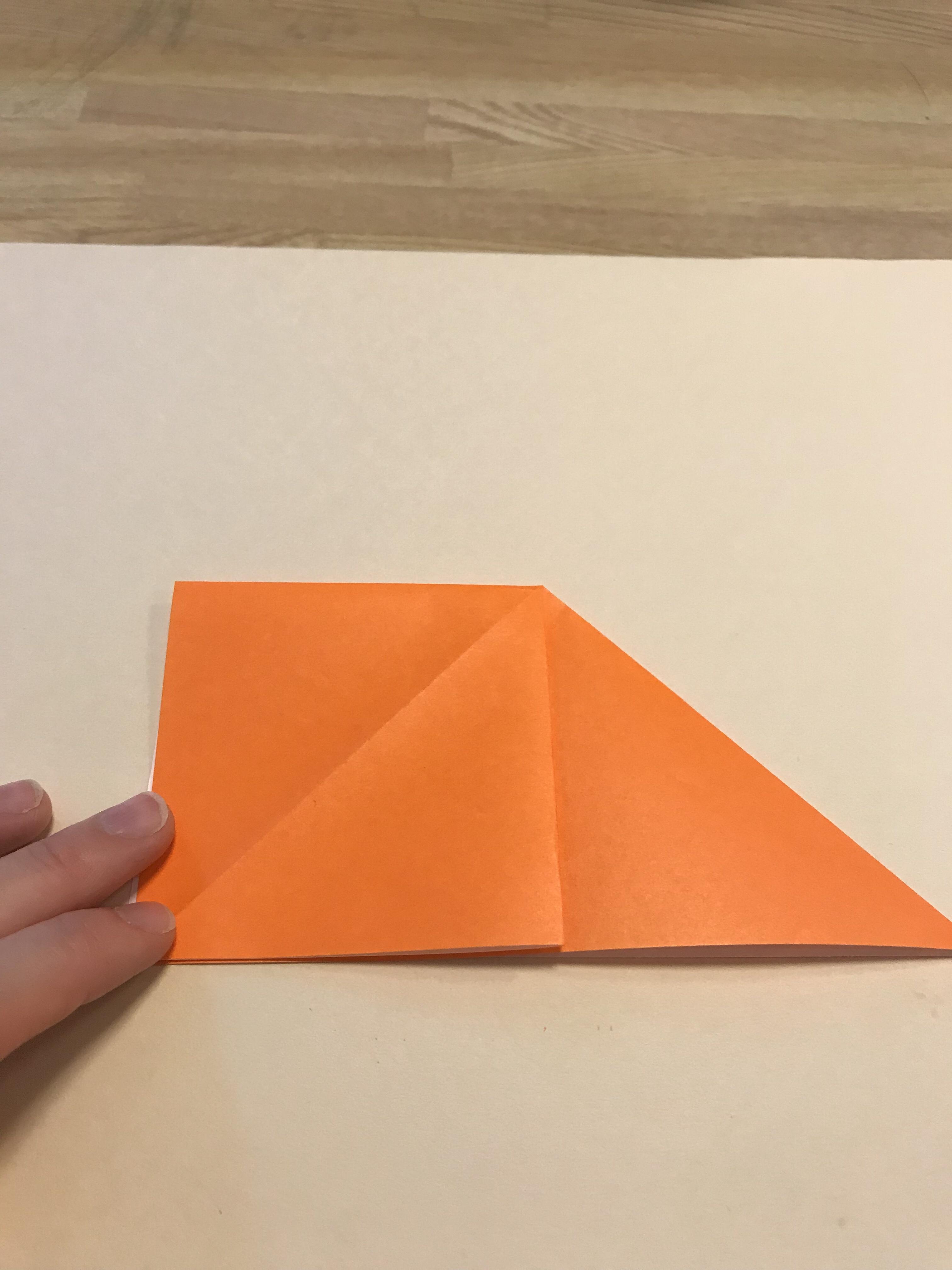 片側で四角が完成した図。
