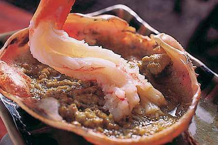 海老に蟹味噌の写真